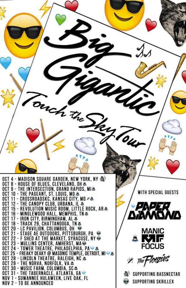 Big Gigantic Touch the Sky Tour