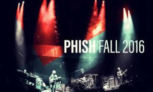 phish fall tour 2016