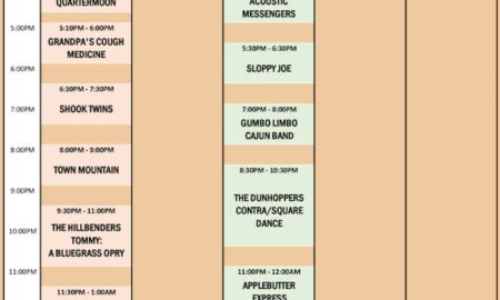 Suwannee Roots Revival Schedule