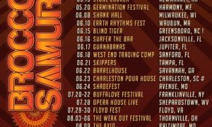 Broccoli Samurai Florida tour dates
