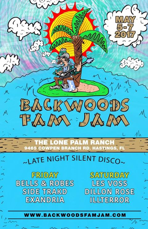 backwoods fam jam silent disco