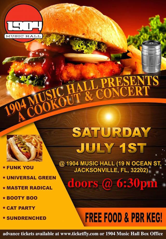 1904 Cookout & Concert