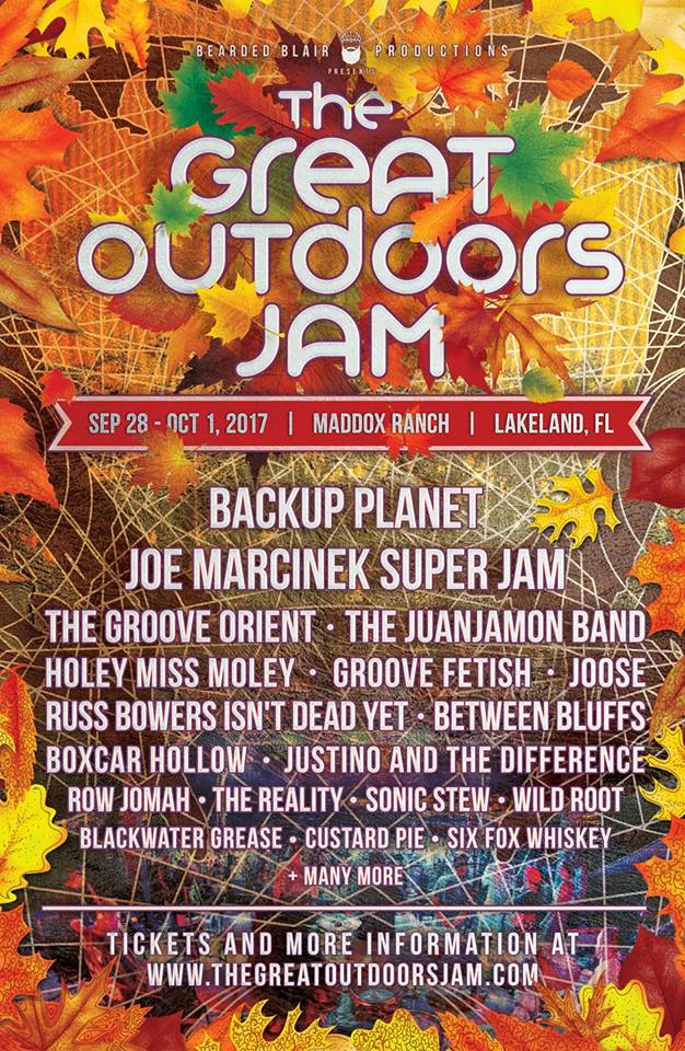 great outdoors jam
