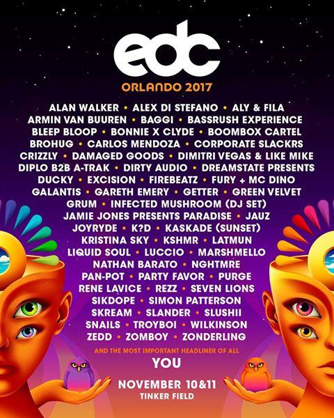 edc lineup