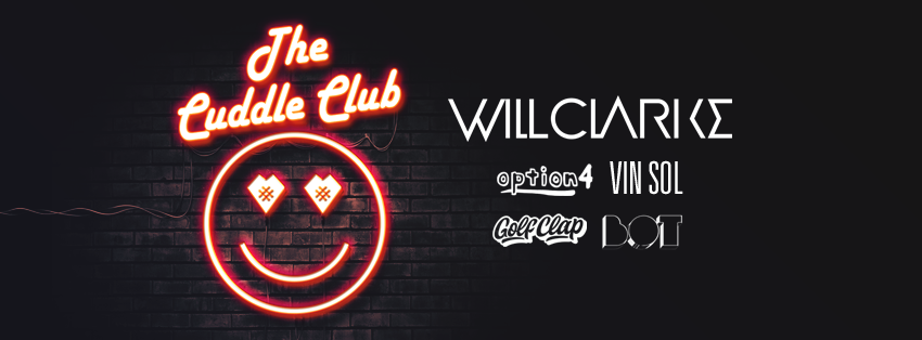will clarke cuddle club tour