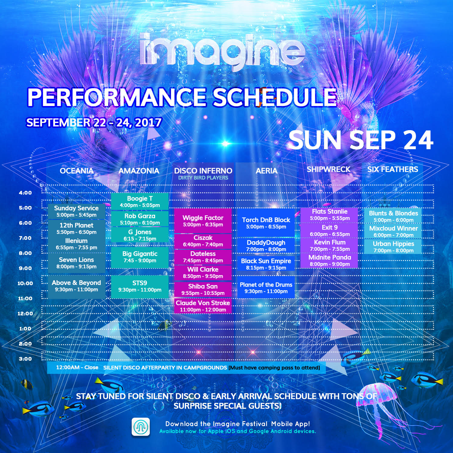 imagine festival 2017 schedule