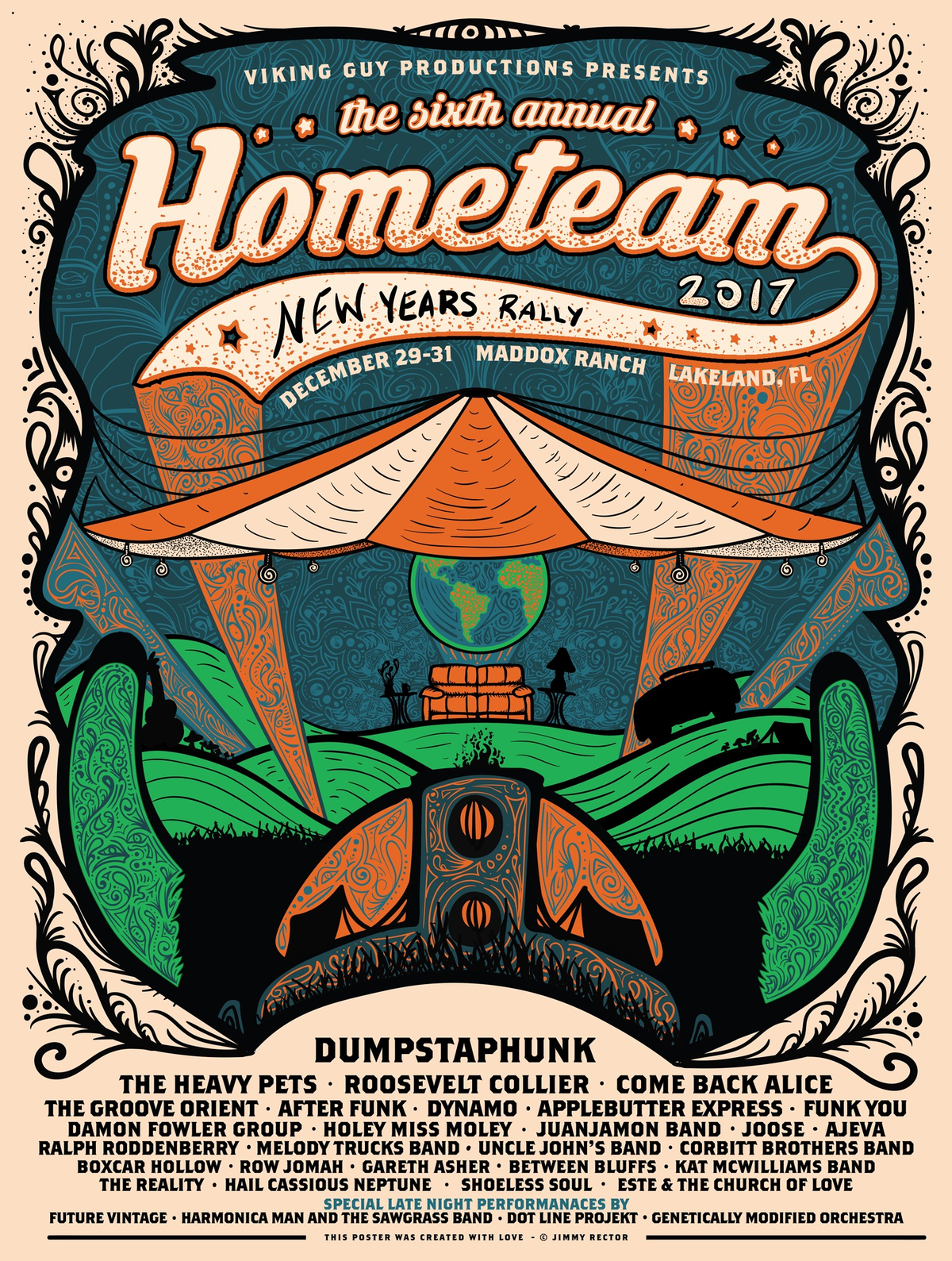Hometeam New Year's Rally 2017