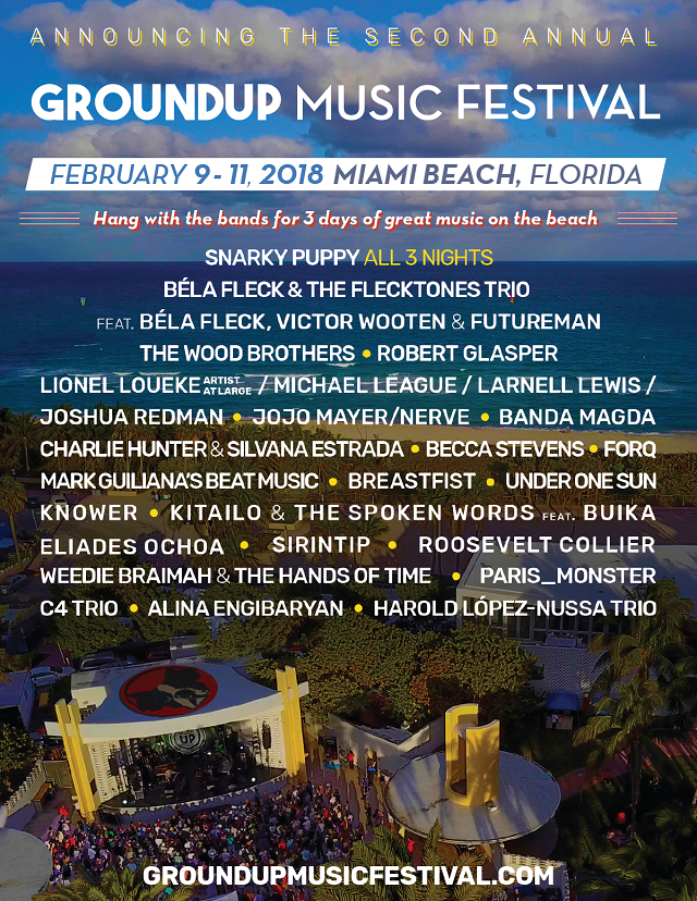 GroundUp Music Festival 2018