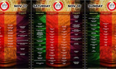 Zen Awakening 2017 Schedule