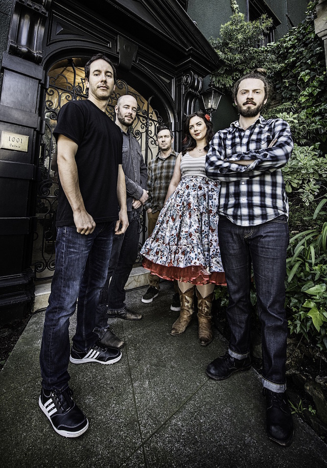 Yonder Mountain String Band photographed in San Francisco