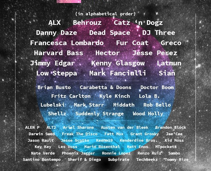 Distant Dimension 2018 Lineup