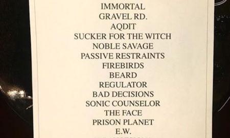 Clutch setlist