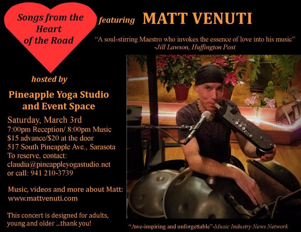Matt Venuti Concert in Sarasota(1)