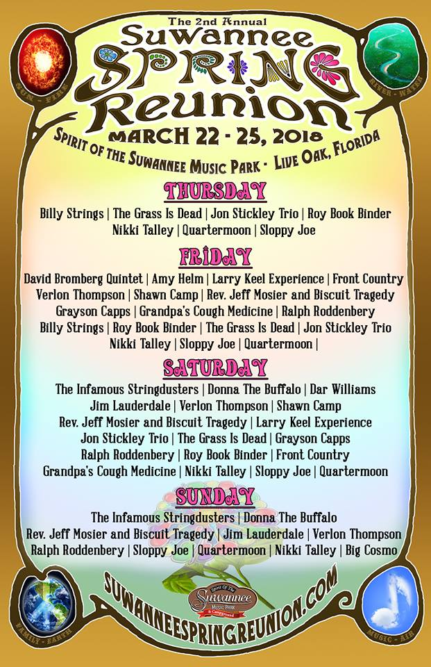 suwannee spring reunion 2018_feb update