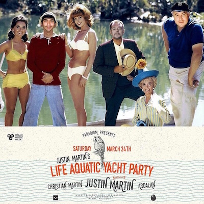 Justin Martin Yacht Party