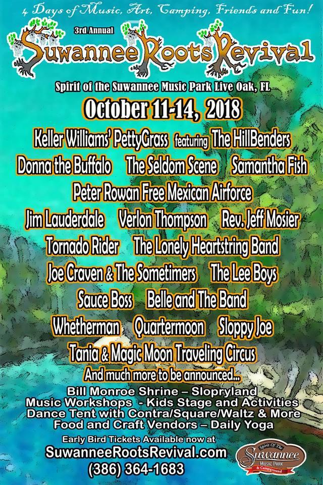 Suwannee Roots Revival 2018