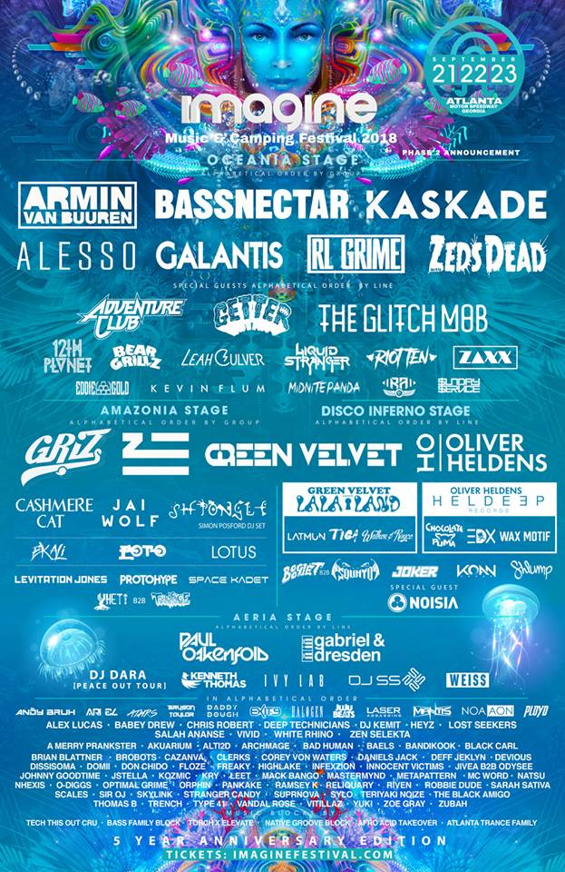 Imagine Music Festival 2018