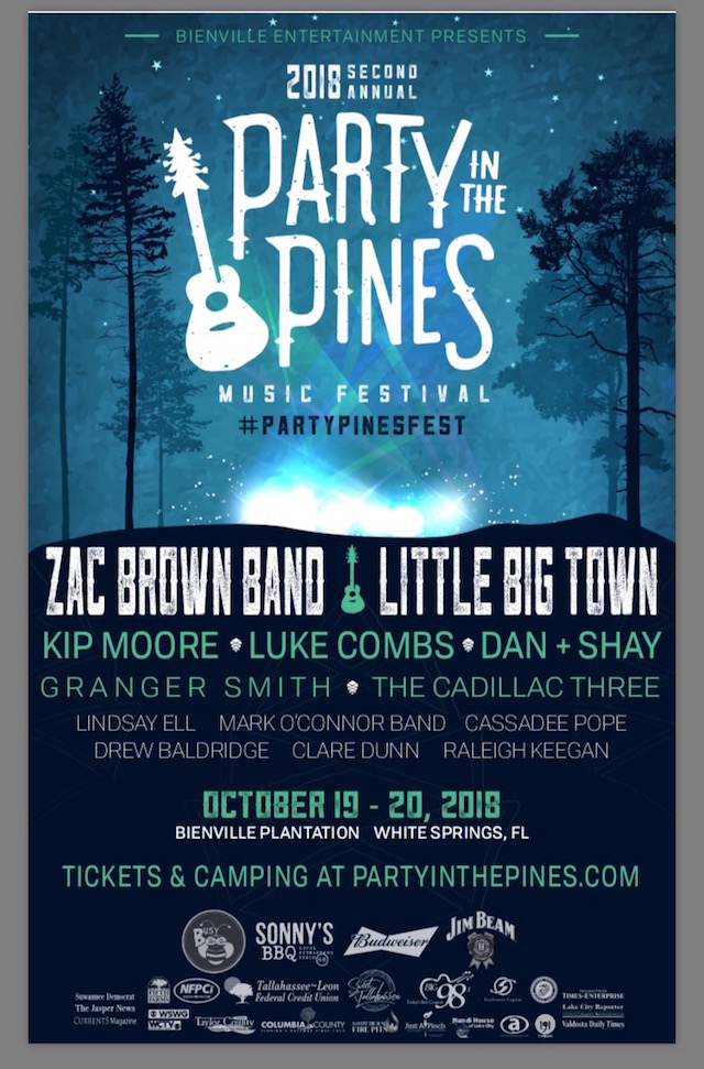 Party in the Pines 2018